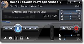 Siglos Karaoke Player/Recorder - the next generation of karaoke players
